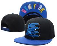 Gorro plano del casquillo del nuevo Snapback del estilo Casquillos del sombrero de la playa del verano de los hombres de los Snapbacks de Hip-hop de la manera del casquillo del casquillo de Nueva York