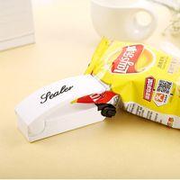 Wholesale Portable Household Magic Sealer Mini Snacks Bags ABS Sealing Clip Hand Pressure Heat Shrinkage Closure Bag Clips