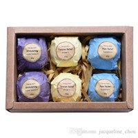 Wholesale Art Naturals Bath Bombs Gift Set Ultra Lush Essential Oil Handmade Spa Bomb Bath Salts for body