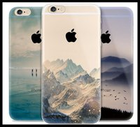 beautiful european cities - For Apple iPhone plus S Soft Silicon Phone Case City Sea European Scenery beautiful sight image cover case