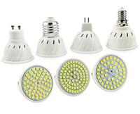 Wholesale 10x E27 E14 MR16 GU5 GU10 Lampada LED Bulb V V Bombillas LED Lamp Spotlight LED SMD Lampara Spot Light