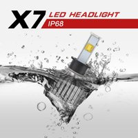 Wholesale 2016 NEW LED X7 w lm super bright CREE headlamps LED car headlights H1 H3 H7 H11