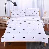 Polyester / Cotton best bedspreads - Night Bat Bedding Reactive Printing Duvet Cover Set Simple Style Bedspread Twin Full Queen King Cal King Best