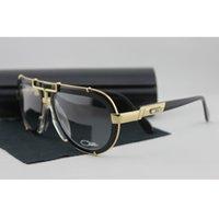 al por mayor aviador gafas de sol colores-2017 CZ de la marca de fábrica de las gafas de sol del diseñador de la marca de fábrica del estilo retro del estilo de las gafas de sol de los hombres del aviador de la marca de fábrica de la CZ 64