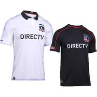 Wholesale Top thai quality men s Colo Colo jersey home away Colo football shirt Chile football club Jersey