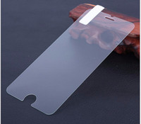 Wholesale 1000pcs d mm H Premium Tempered Glass Screen Protector toughened protective film for iPhone Plus Protection