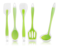 Wholesale Food grade untensil kitchen tool spoon spatula Silicone utensil cooking tool set