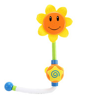 Plastic Round Contemporary Sunflower Shower Faucet Shower Baby Bathroom Shower Learning Toy Children Pool Swimming Toys Boys Girls Gifts
