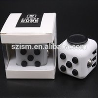 Wholesale 100 In Stock High quality Fidget Cube Anxiety Stress Relief Focus side Dice For Adults Child