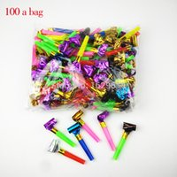 Wholesale New Fashion Birthday Blowing Dragon Whistle Volume Blow Horn Noise Maker Party Decoration Accessories Supplies