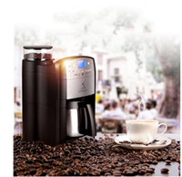 beans espresso - DCM V V Automatic espresso coffee machine grinding coffee beans heat preservation timing function all in one home office requir