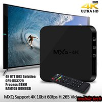 Wholesale TOP Original Hot MX2 MXQ PRO Quad Core Android TV Box Android TV BOX With Customized KODI Fully Loaded K RK3229