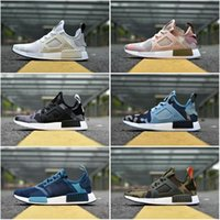 Wholesale 2017 Hot Sale Drop Shipping Cheap Famous NMD XR1 Navy White Army Green Duck Camo Womens Mens Sports Running Shoes Size