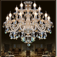 Wholesale Modern Crystal Chandelier Living Room lustres de cristal Decoration Tiffany Pendants and Chandeliers Home Lighting Indoor Lamp