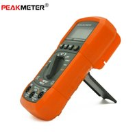 Wholesale handheld PEAKMETER PM8233D Multifunctional Digital Multimeter Auto Range Display Counts DC AC Voltmeter Frenquency tester