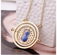 turner - 2016 Fashion Jewelry Explosion Models Degrees Hourglass Necklace Horcrux Time Converter Time Turner Necklace