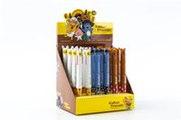 Wholesale Kakao friends cartoon red and blue color writing stationery pen ball point pen students children stationery