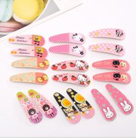 Wholesale Cartoon Series Of Baby BB Clip To A Pair Of Children s Hair Accessories Barrettes