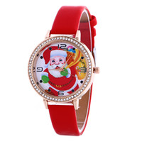 battery santa claus - Creative Santa Claus Cartoon flash Wrist bracelet small gifts children toys stall selling goods Christmas toys NEW ARRIVAL