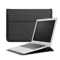 Wholesale China Wholesale Macbook Pros - 13 Inch Macbook Laptop Sleeve Premium PU Leather Carrying Case Bag Cover for Apple MacBook 11.6 12 13.3 15.4 inch Air Pro Retina