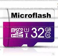 Wholesale DHL shipping GB GB GB GB GB Microflash micro sd card Class10 Smartphone TF card Real capacity Storage card memory card MB S
