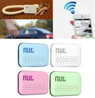 Wholesale Nut Mini Smart Finder itag Bluetooth Tracker Anti Lost Reminder Wireless Key Finder Pet Locator Lage Wallet Phone Finder