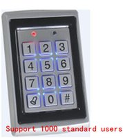 Wholesale rfid lock system door Support standard users Metal Password Keypad RFID Card Door Access Controller with English Manual