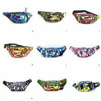 Wholesale Unisex Outdoor Waist Belt bag Camouflage Bag Sport Bum Bag Pack Jogging Phone Bag Sport Wallet Waist Pocket Travel Pouch color KKA976