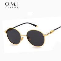 Wholesale High Quality Vintage Black Metal Frame Versae Sunglasses for Men Women Fashion Brand Designer Hot Rays Sun Glasses STY3847 Freeshipping