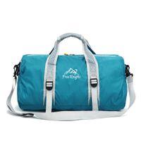 badminton women single - Men and women outdoor handbag bag folding travelling bag large capacity single body exercise bag female bag sports bag