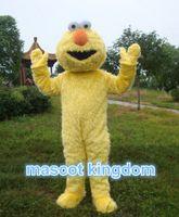 Wholesale Yellow Sesame Street Elmo Cookie Monster Mascot Costume Adult
