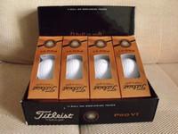 Cheap DHL brand new PRO V1 V1X golf ball balls golfballs Golf grip grips club clubs one dozen=one box=12 balls