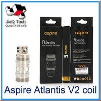 Precio de Atlantis v2 bobinas-Aspire Atlantis V2 Coil ReplacementCoil 0.3 0.5ohm 1.0ohm Bobina Sub Ohm Para Atlantis V2 Mege atomizadores