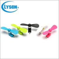 Wholesale For iPhone lightning USB portable mini fan pin flexible portable super mute cooler hand held color