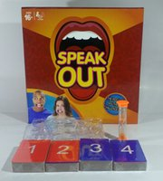 Wholesale Christmas Gift Speak Out Game KTV Party Game With Cards Mouthpiece For Party Families Friends