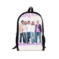 bagpacks for school - 17 inch print school bag for teenager boys girls Maroon school bag christmas gifts children causal school bagpacks free ship