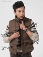 Wholesale Fall Original Canadians brand Men freestyle real feather down vest jacket winter thick Sleeveless down Waistcoat