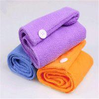 Wholesale Womens Ladies Magic Hair Drying Towel Hat Cap Quick Dry Bath