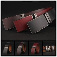 Wholesale 2016 mens genuine leather luxury strap male belts for men cm width cintos masculinos