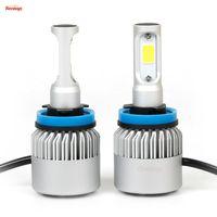 Wholesale Universal Plug And Play V V H1 H4 H7 H13 H11 Bridgelux W LM COB LED Headlight LED Fog Light For Car