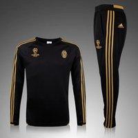 Wholesale 2015 Juventus soccer tracksuits survetement football training suit sweat top soccer jogging pants chandal football