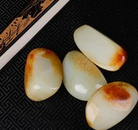 artistic materials - Xinjiang Hetian jade seed material from the artistic crystallization of ancient civilization China thousands of years of culture has its s