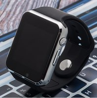 al por mayor tarjeta qq-Teléfono elegante de la tarjeta del reloj A1 Bluetooth teléfono móvil de la ayuda QQ WeChat teléfono del androide del patio de la octa de las ventas del comercio exterior, 4g lte