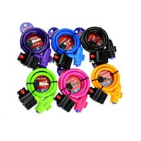 Wholesale High Quality Steel Wire Rope Bicycle Lock Bike Cable Lock For Mountain Bike TONYON Lock