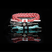Wholesale All Styles OEM Made Rastaclat Galaxy Shoelace Bracelet Wristband Adjustable Ties CM Polyester One Size Fits MOST Satisfied A055