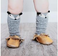 cartoon children socks - Fox Mouse Cartoon Cotton Baby Boy Girl Leg Warmers Sock Stocking Boys Girls Children Socks Random Styles D5143