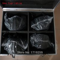 Wholesale Flight Case with pieces LED x W RGBW Beam Moving Head Light Only the flight case empty