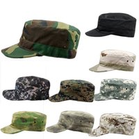 Wholesale Cadet Hats Wholesalers - New Arrivals Military Army Styles Camo Camouflage Men Women Hats Hunting Baseball Cadet Casual Battle Caps PX9 Free Shipping