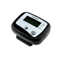 Wholesale Smart Electronics Black LCD Pedometer Step Calorie Counter Walking Distance Sport Pedometer RF