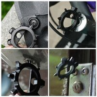 Wholesale EDC in Multi Screwdriver Bicycle Repair Tool Opener Keychain Outdoor Survival Camping Black Grey A278